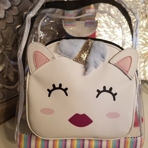 Betsey Johnson Clear Unicorn backpack NWT